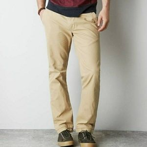 •American Eagle• sz. 28/30 Original Straight Khaki